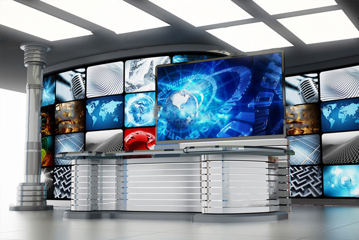 Normal and transparent LED displays and Video wall systems