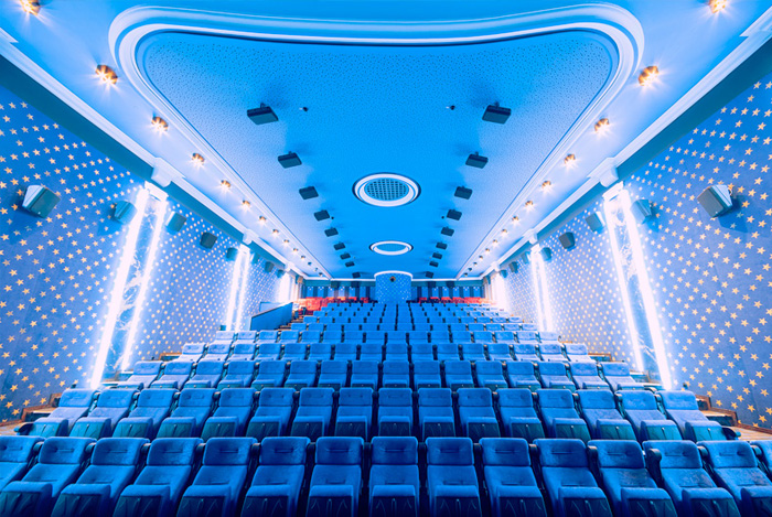 Multichannel audio systems for digital cinemas